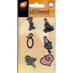 American Traditional Designs - Lil' Charms - Wedding Charms - Color