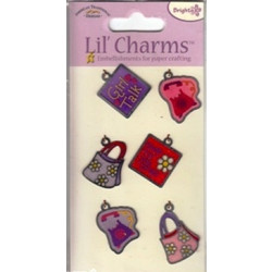 American Traditional Designs - Lil' Charms - Girl Stuff - Set of 6