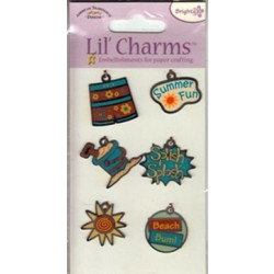 American Traditional Designs - Lil' Charms - Beach Bum - Set of 6