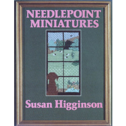 Needlepoint Miniatures Book - Susan Higginson