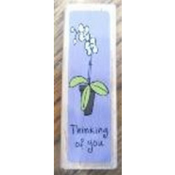 Katie & Co-Wooden Stamp-Thinking of you