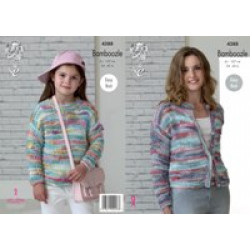 KC DK - Ladies & Girls' Sweater & Cardigan Bamboozle 4388
