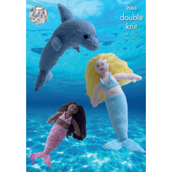 Dk Dolphin and Mermaid Pattern 9063