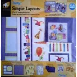 "American Traditional Designs - Party - 12""x12"" Scrapbook Kit"
