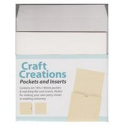 Pockets and Inserts - 144 x 144mm - Cryogen White
