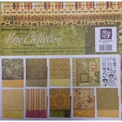 Prima - Eire Collection - 12x12 Scrapbook Page Kit