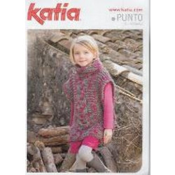 Katia - Childrens - Cabled Tunic Pattern - Punto 2
