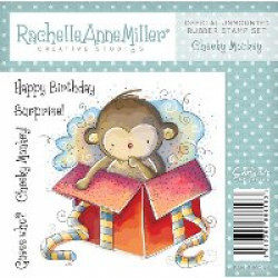 Rachelle Anne Miller Rubber Stamps - Cheeky Monkey