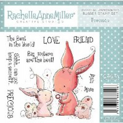 Rachelle Anne Miller Rubber Stamps - Precious