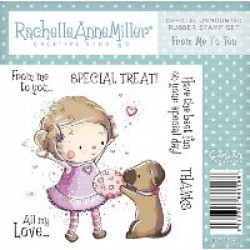 Rachelle Anne Miller Rubber Stamps - From Me To You