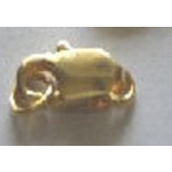 Gold Plated 12mm Lobster Claw Clasp