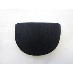 1 Pair Foam Shoulder Pads - Medium Black