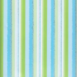 "Scrapbook Paper - 12""x12"" Paper Heart - Daggle Blue-Green Stripe"