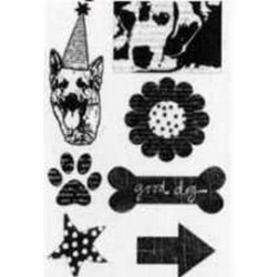 Rusty Pickle Clear Stamps - SMP40 Dog Stamps