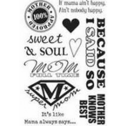 Rusty Pickle Clear Stamps - SMP44 Mom Stamps