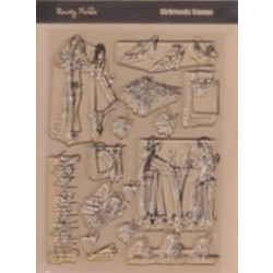 Rusty Pickle Clear Stamps - SMP50 Girlfriends Stamps