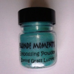 Blonde Moments Embossing Powder - Spring Grass Lustre