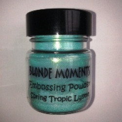 Blonde Moments Embossing Powder - Spring Tropic Lustre
