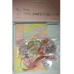 The Tutti Frutti Collection - Floral Jester Card Kit