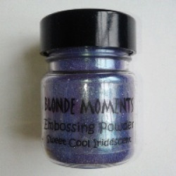Blonde Moments Embossing Powder - Sweet Cool Iridescent