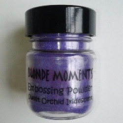 Blonde Moments Embossing Powder - Sweet Orchid Iridescent