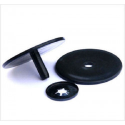 Toy Safety Joints 3.4cm Black (Pair)