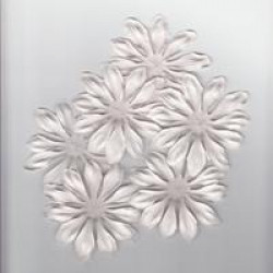 Paper Daisy - White - pack of 20