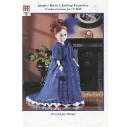 Jacquay Yaxley's Dolls clothes Dressed for Dinner